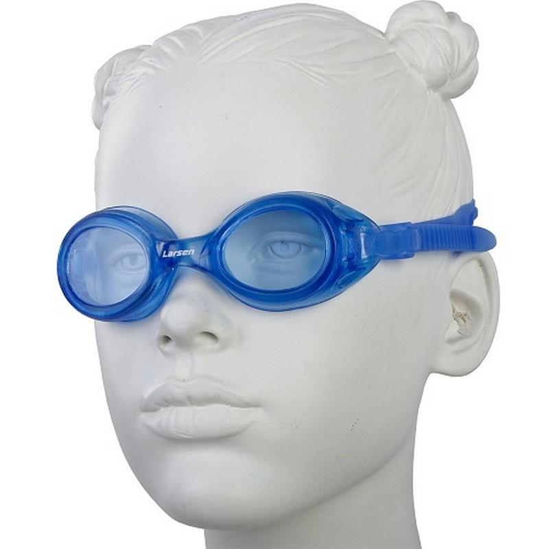 Очки плавательные детские Larsen DS7 очки плавательные larsen s41