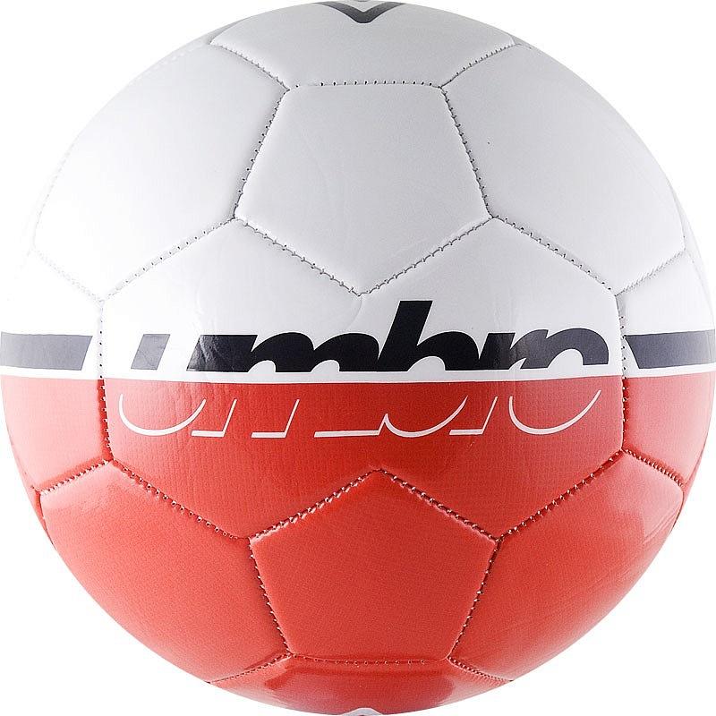 Мяч футбольный Umbro Veloce Supporter ball р.3 бел\крас\чер мяч футбольный любительский р 5 umbro veloce supporter 20808u stt
