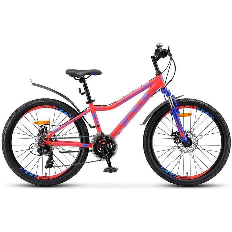 Купить Велосипед Stels Navigator 24 410 MD V010 2019 Неоновый-красный (LU091556),