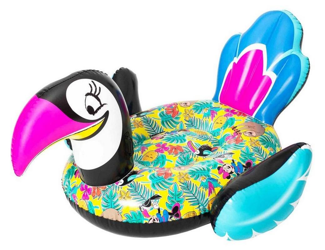 Купить Надувной плот Тукан Disney Fashion Bestway 207x150см 91082,