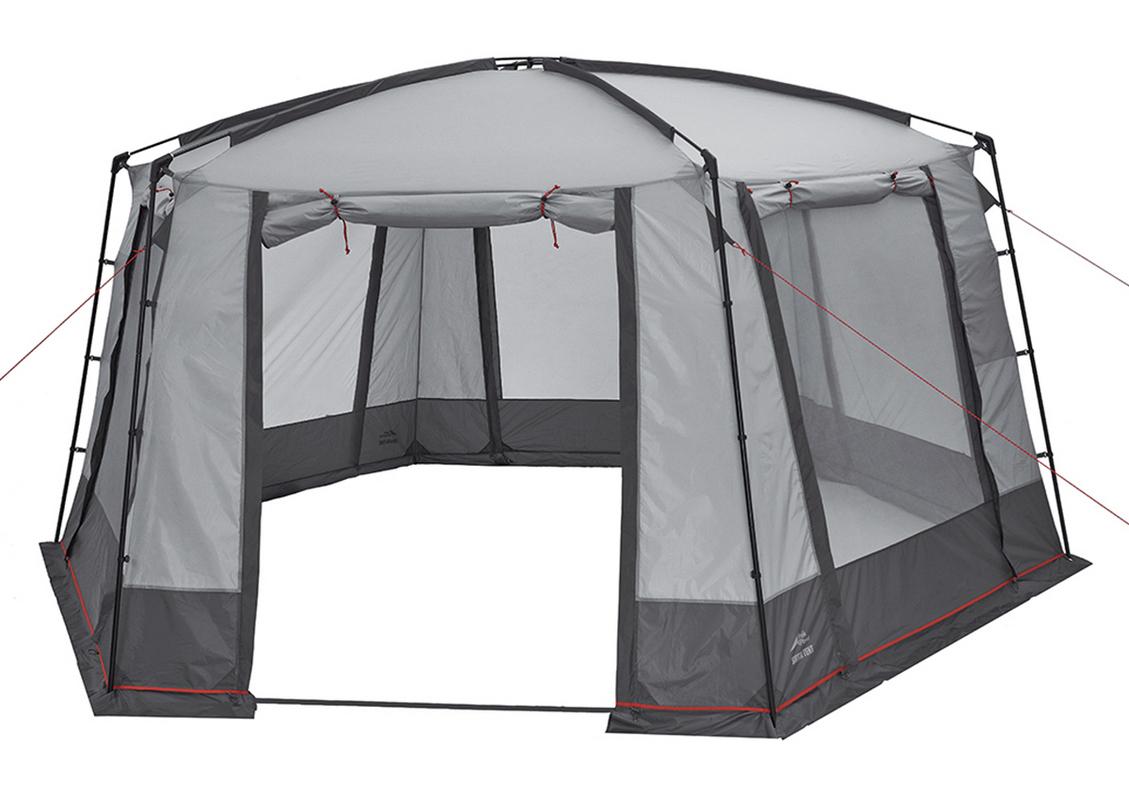 Шатер Trek Planet 70290 Siesta Tent серый/ т.серый