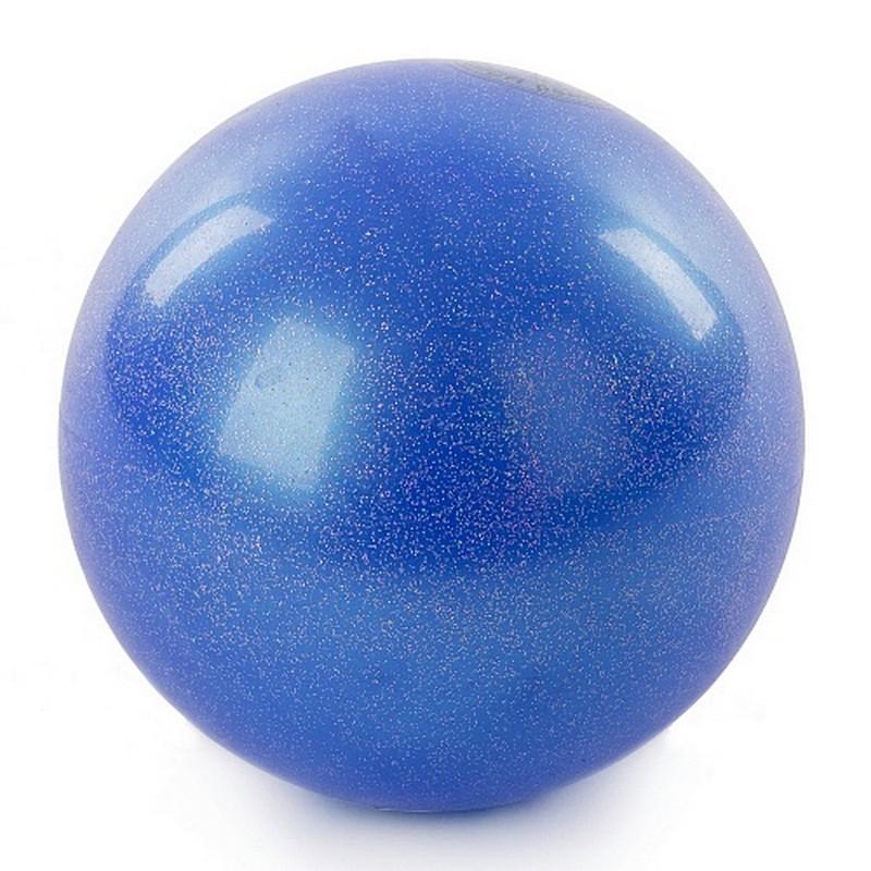 Мяч для художественной гимнастики 15 см AB2803B синий металлик от Дом Спорта