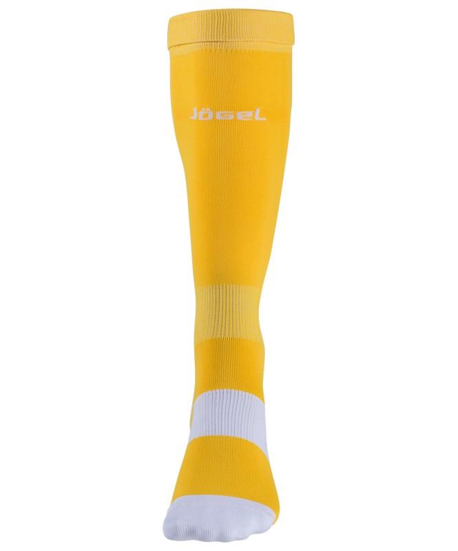 Гетры футбольные J?gel JA-001, желтый/белый