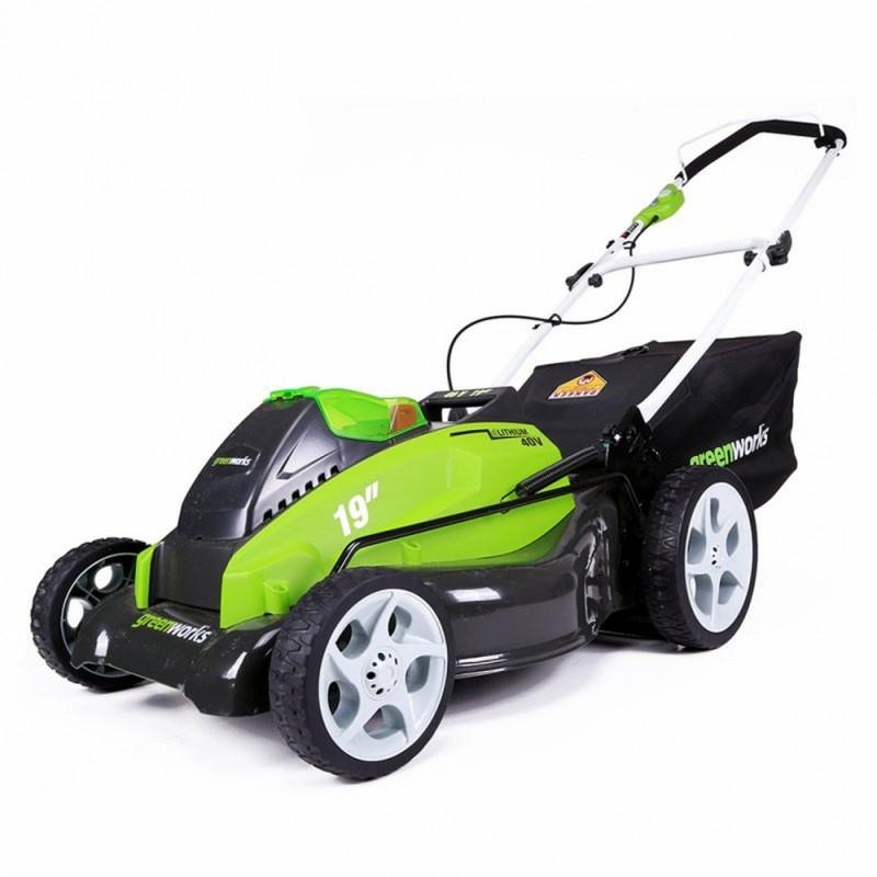 Газонокосилка аккумуляторная Greenworks 2500107 G-MAX 40V 45 cm 4-in-1 без АКБ и ЗУ