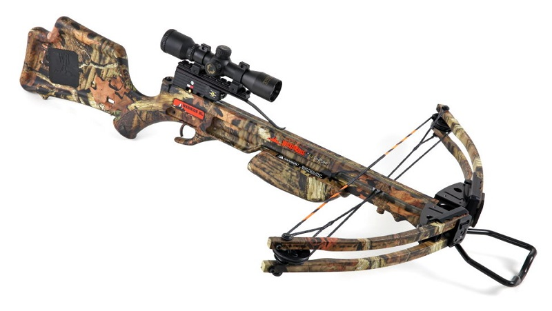 Арбалет блочный WR Warrior HL PKG Scope Ten Point WR15015-6530-95 запасные плечи для арбалета wr warrior hl ten point w10206