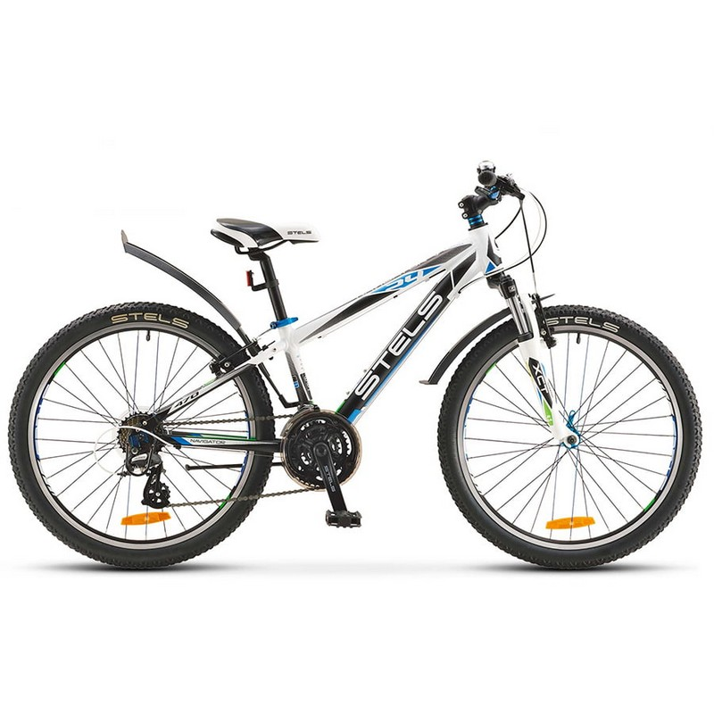 Купить Велосипед Stels Navigator 24 470 V V020 2018 БелыйЧерный (LU085334),