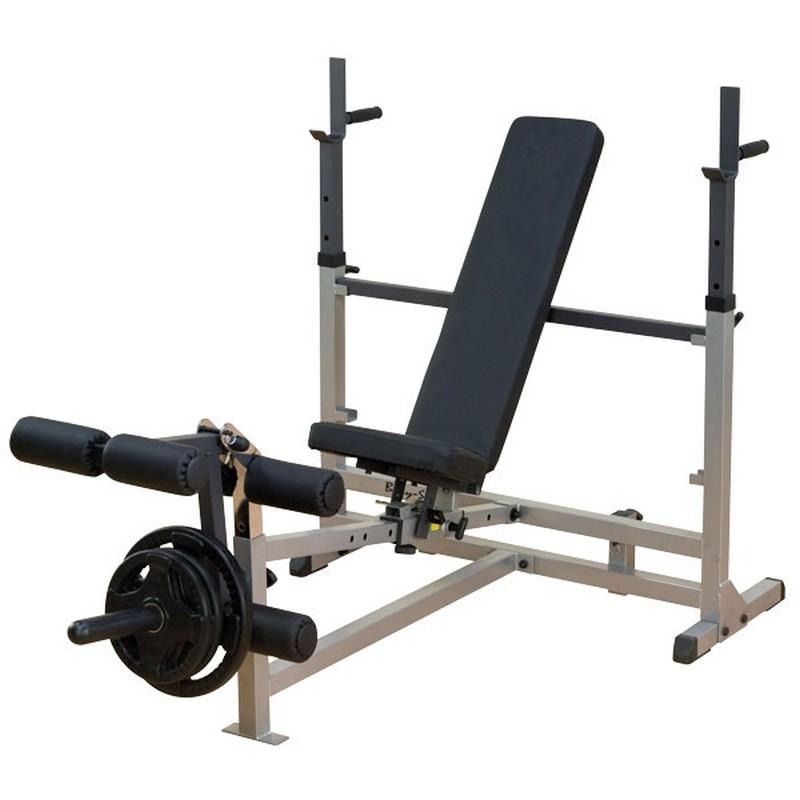 Силовая скамья для жима Body Solid GDIB_46L тренажер для разгибания ног сидя и сгибания свободные веса body solid plce165x