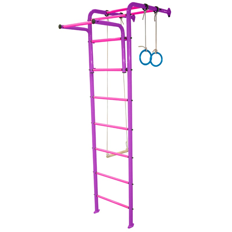 Детский спортивный комплекс Альпинистик 1 фиолетоворозовый