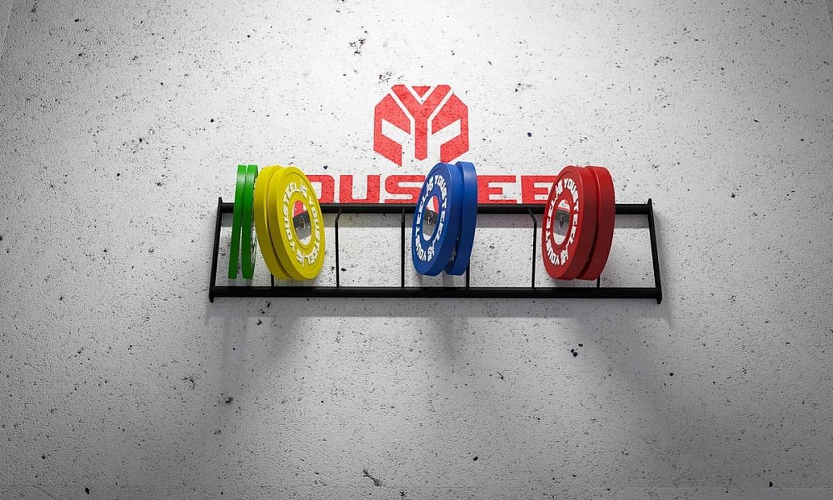 Полка стеллажа YouSteel для хранения дисков, длина 110 cм