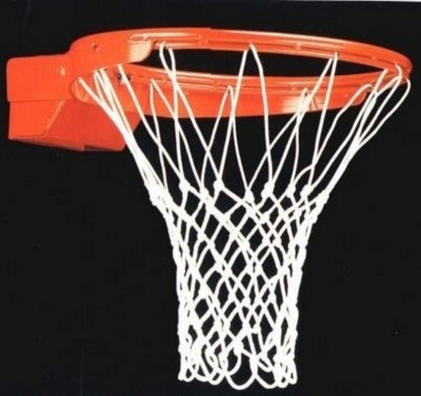 Купить Сетка баскетбольная (шнуровая) 6 мм цвет белый ФСИ 090360,