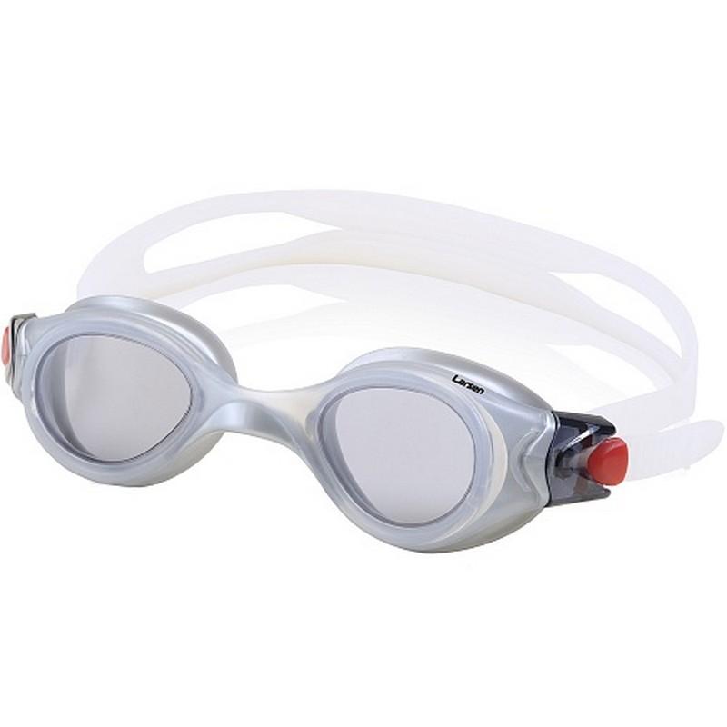 Купить Очки для плавания Larsen S45 серебро,