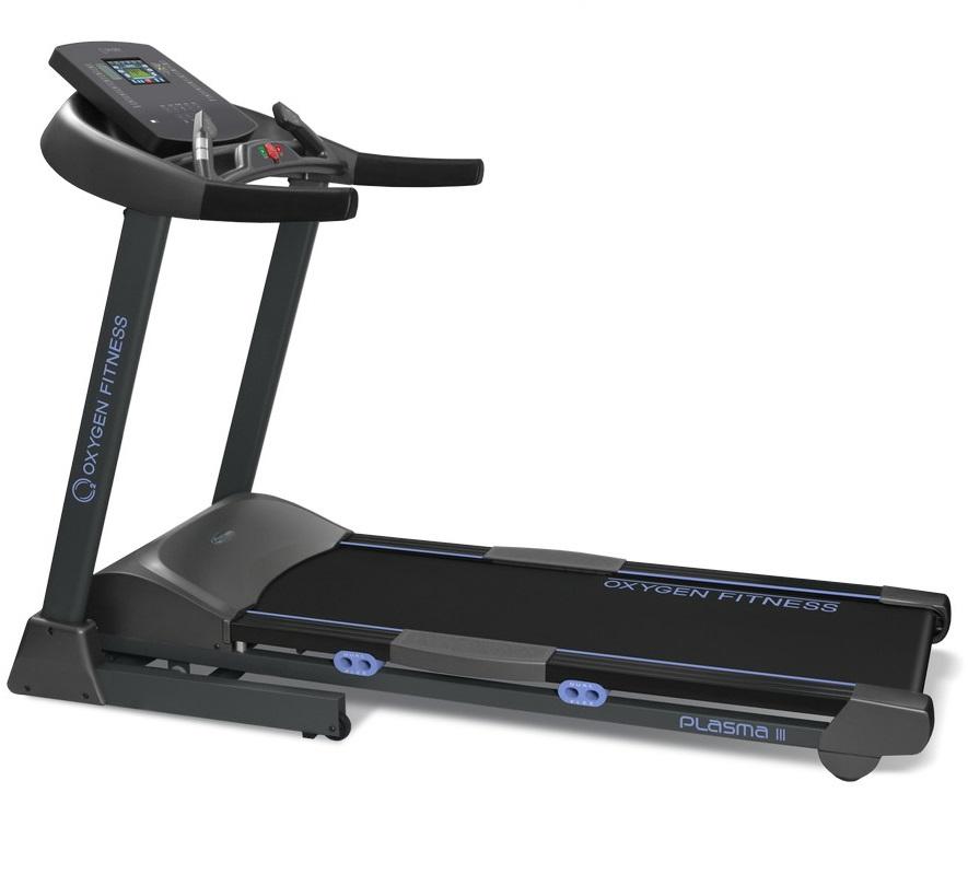 Купить Беговая дорожка Oxygen Fitness Plasma III LC TFT HRC,