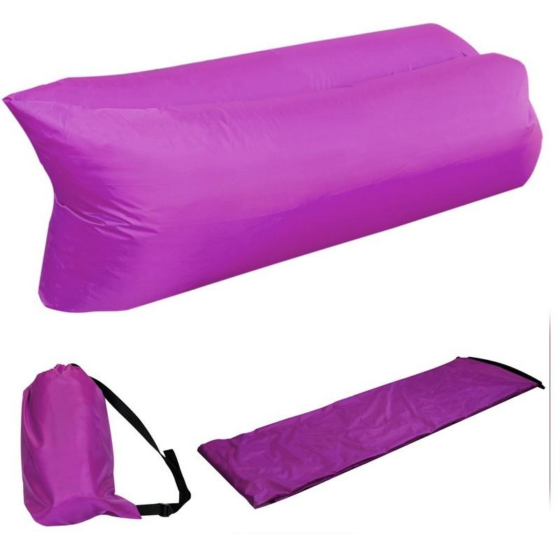 Надувной лежак Lamzac фиолетовый