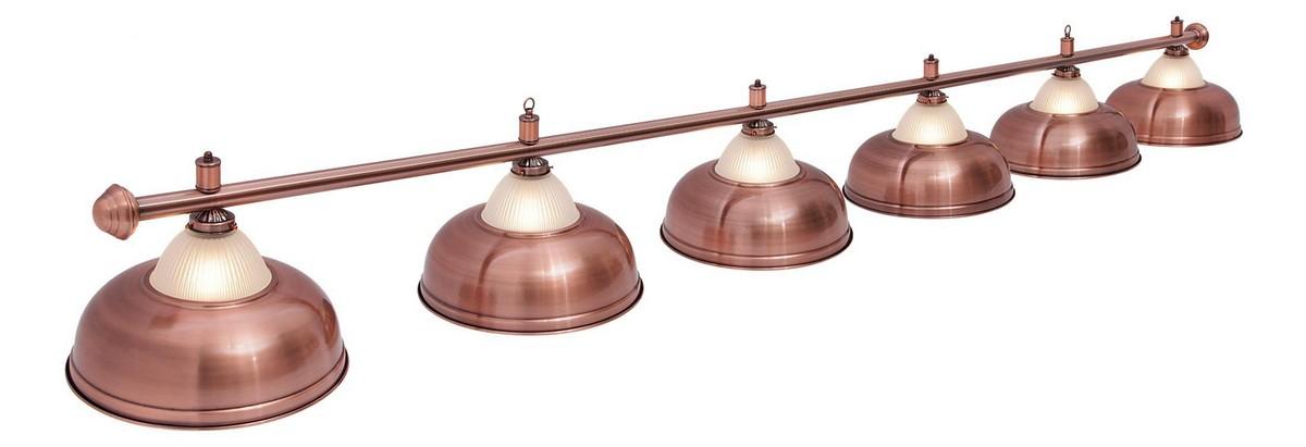 Купить Светильник Fortuna Crown Red Bronze 6 плафонов 06586,