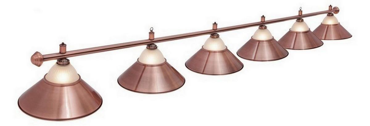 Светильник Fortuna ALlison Red Bronze 6 плафонов 06423