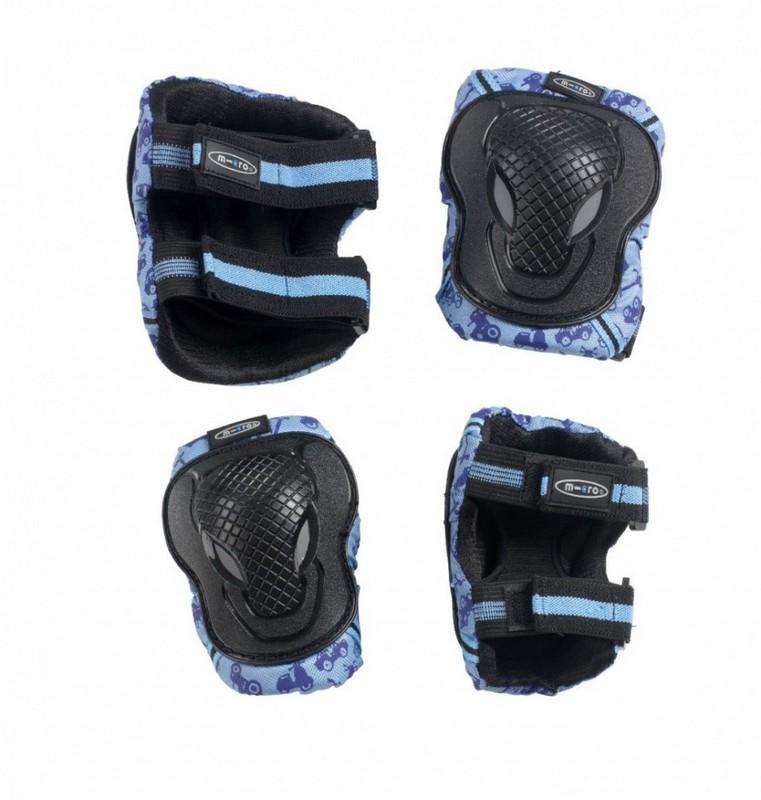 Комплект защиты Micro Knee and Elbow Pads Blue
