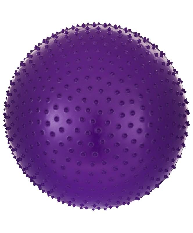 Купить Гимнастический мяч массажный Star Fit GB-301 75 см антивзрыв фиолетовый,