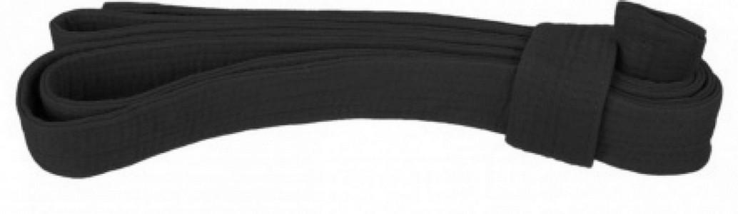Пояс для кимоно 3м черный