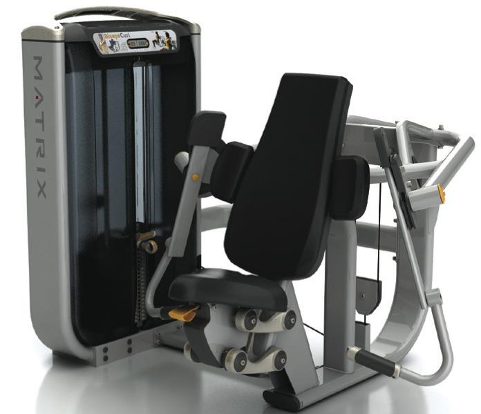 Независимая бицепс-машина Matrix G7 S40 цена