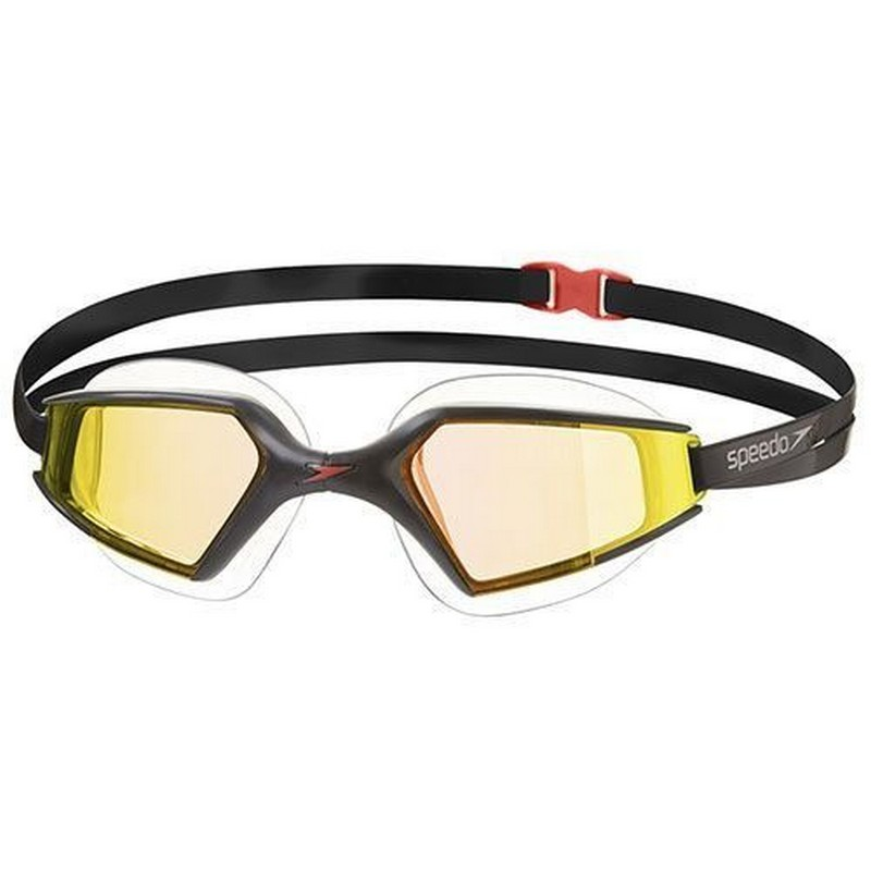 Очки для плавания Speedo Aquapulse Max 2 Mirror Goggles (A260) чер/оранж. speedo speedo aquapulse max