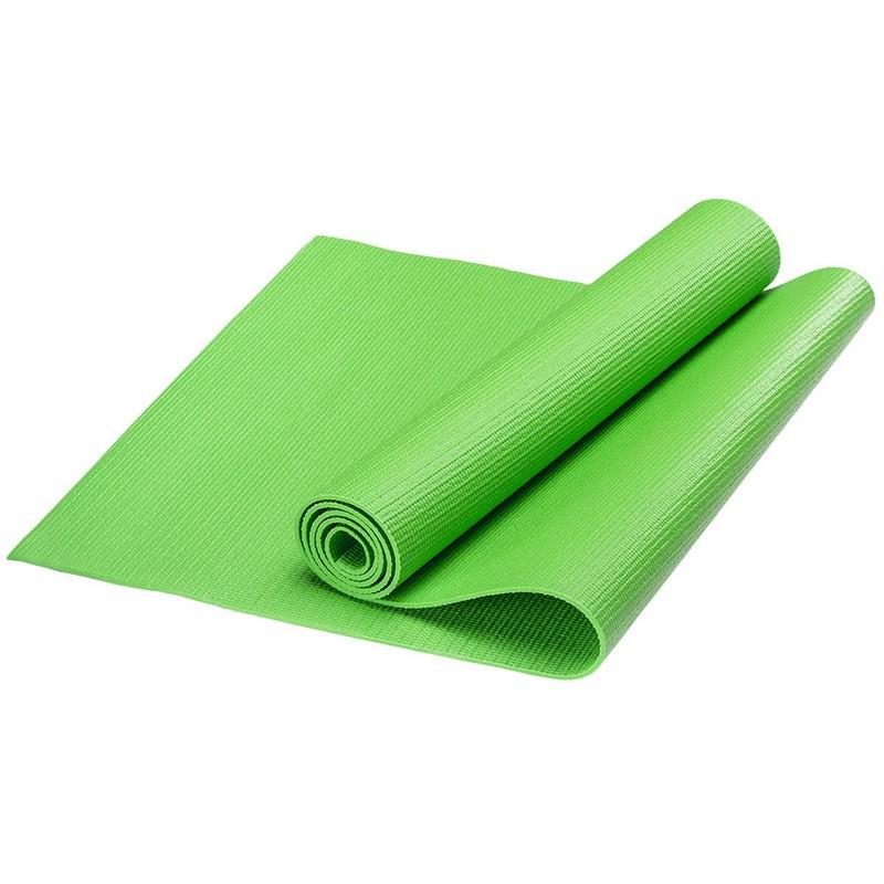 Купить Коврик для йоги PVC, 173x61x0,3 см HKEM112-03-GREEN зеленый, NoBrand