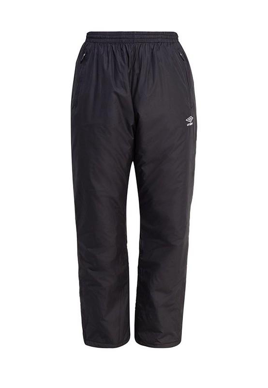 все цены на Брюки спортивные Umbro Padded Pants утепленные 551015 (061) чер/бел. онлайн