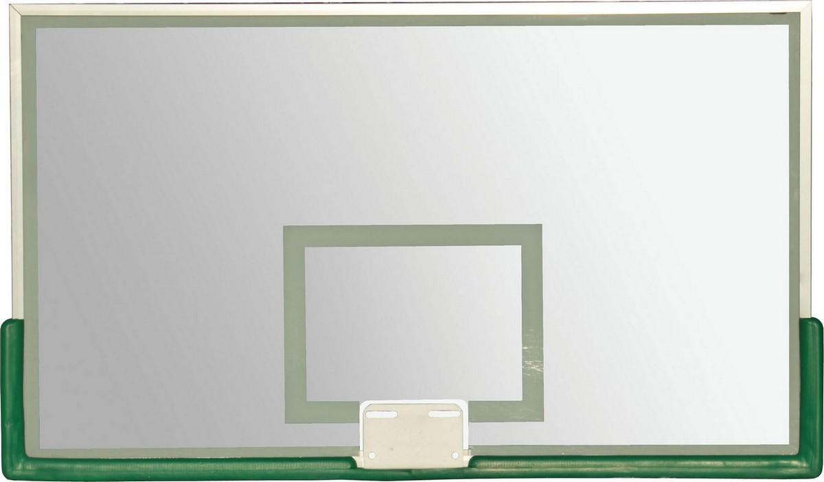 Купить Щит баскетбольный 180х105см ZSO проф., 10 мм, без защиты, кольца TB 8103,