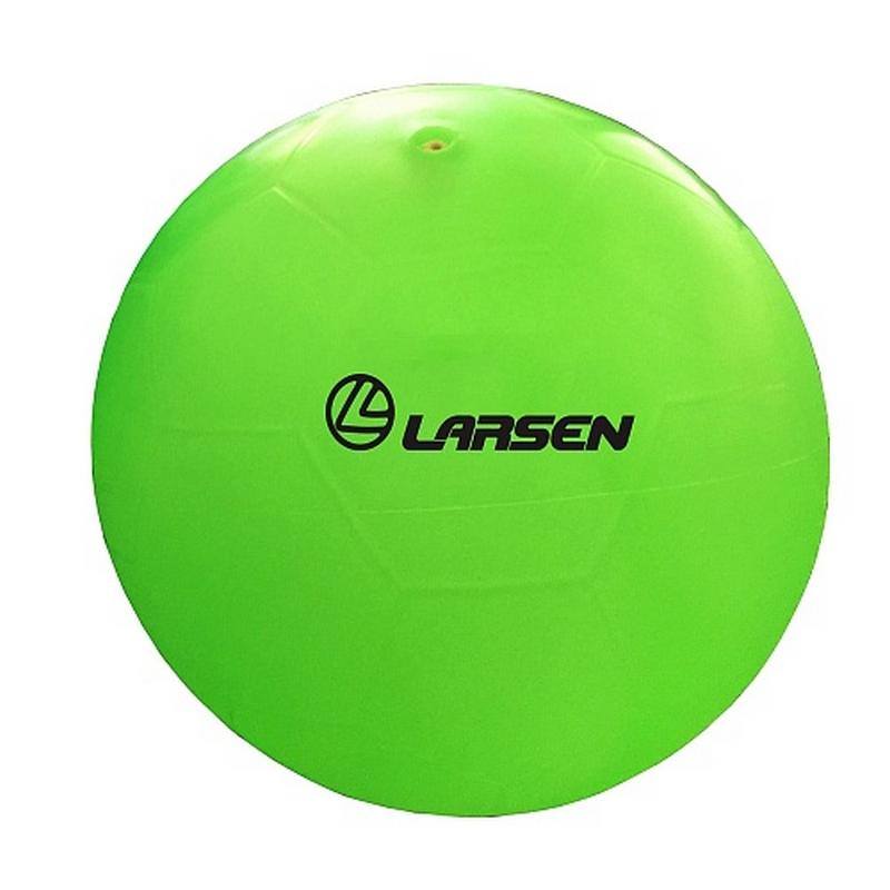 Мяч силиконовый Larsen Неоновый d-15см