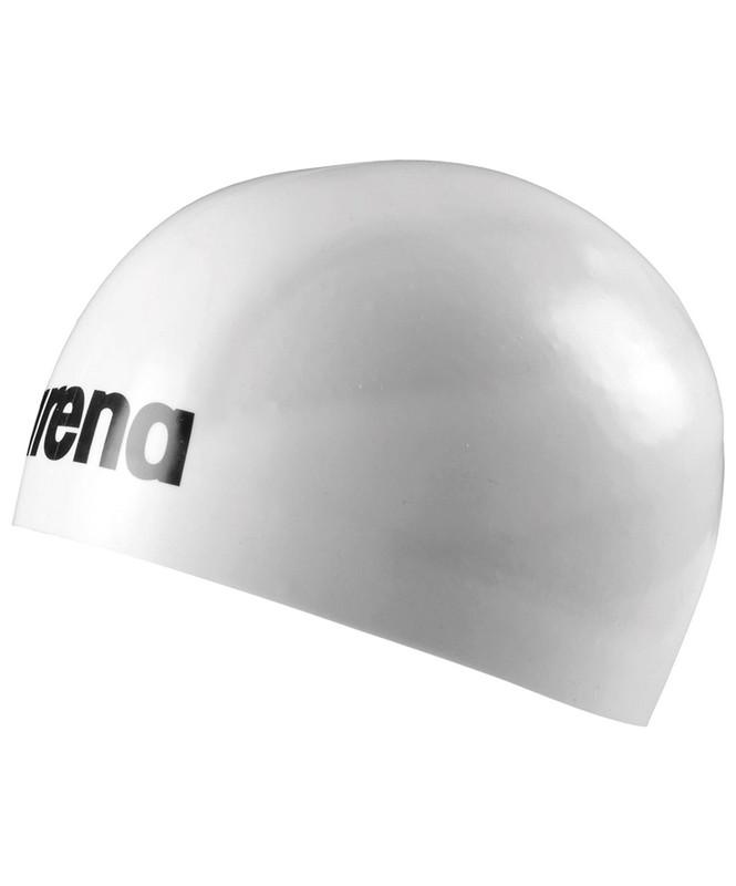 Шапочка для плавания Arena 3D Ultra White/Black (91656 15 L)