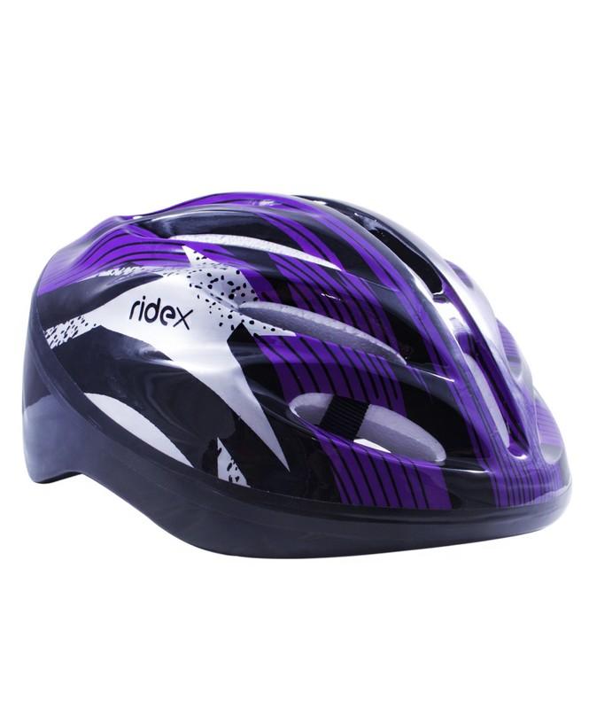Шлем защитный Ridex Cyclone фиолетовый-черный