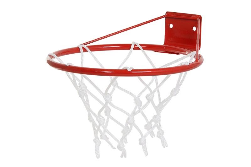 Корзина баскетбольная №1, d 250 мм, с упором и сеткой КБ1
