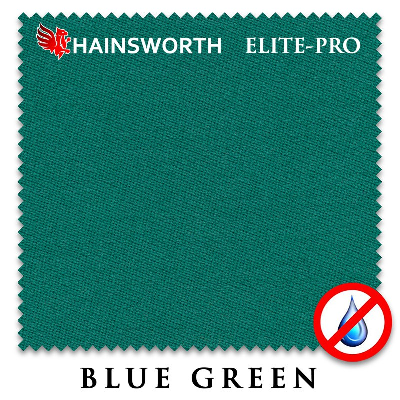 Купить Сукно Hainsworth Elite Pro Waterproof 198см Blue Green,