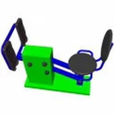Купить Уличный тренажер взрослый Жим ногами для одного Spektr Sport ТС 159,