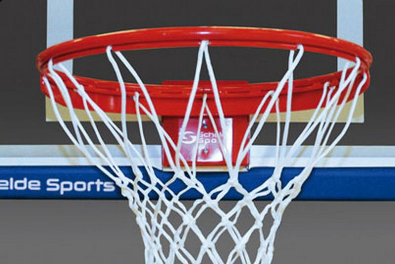 Кольцо баскетбольное пружинящее Pro-Action 180° (с пластиной102х127 ) Schelde 1611857 (910-S6.S2025C)