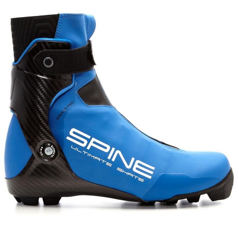 Лыжные ботинки Spine NNN Ultimate Skate 599/1-S синий