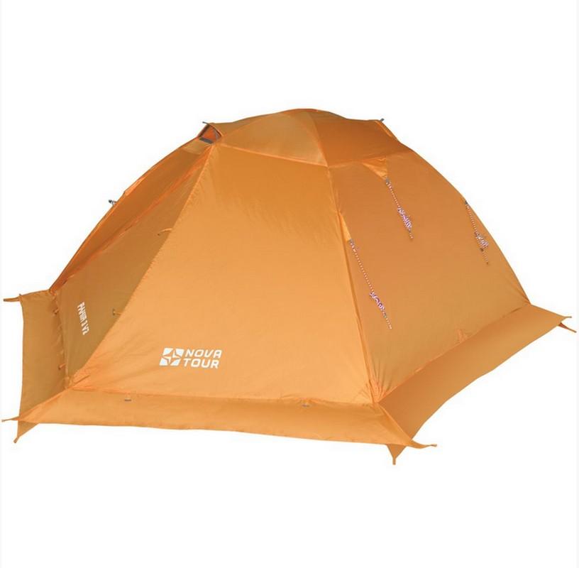 Палатка 3-м Nova Tour Памир 3 V2 палатка туристическая husky bizon 3 classic цвет зеленый