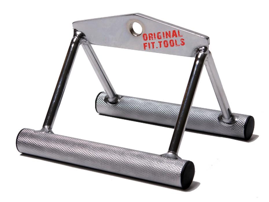 Купить Ручка для тяги к животу Original Fit.Tools (узкий параллельный хват) FT-MB-SRHH 18см,