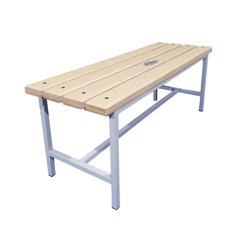 Купить Скамейка для раздевалки 1200 мм сиденье из фанеры Dinamika ZSO-002181,