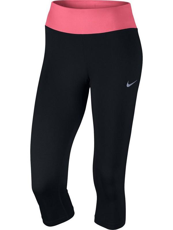 Тайтсы женские Nike Pwr Essntl Tght Df W 831659-014, черн/роз. тайтсы женские nike pwr tght window panel 890668 010 черные
