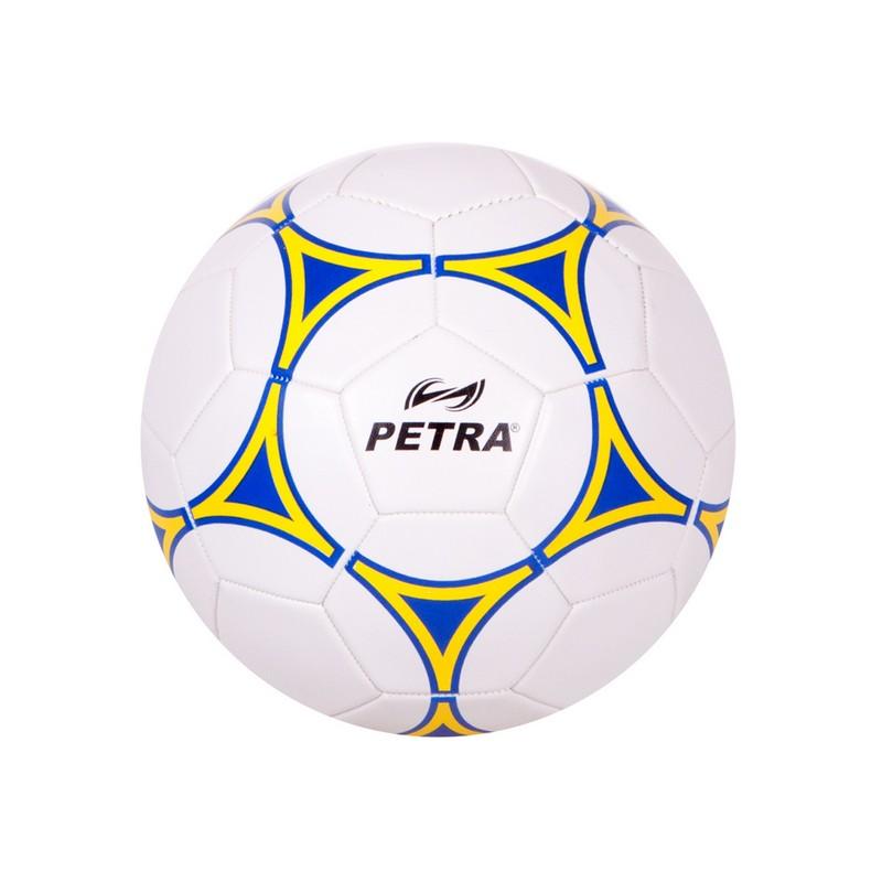 Мяч футбольный Petra FB-1605 White/Yellow Sz5