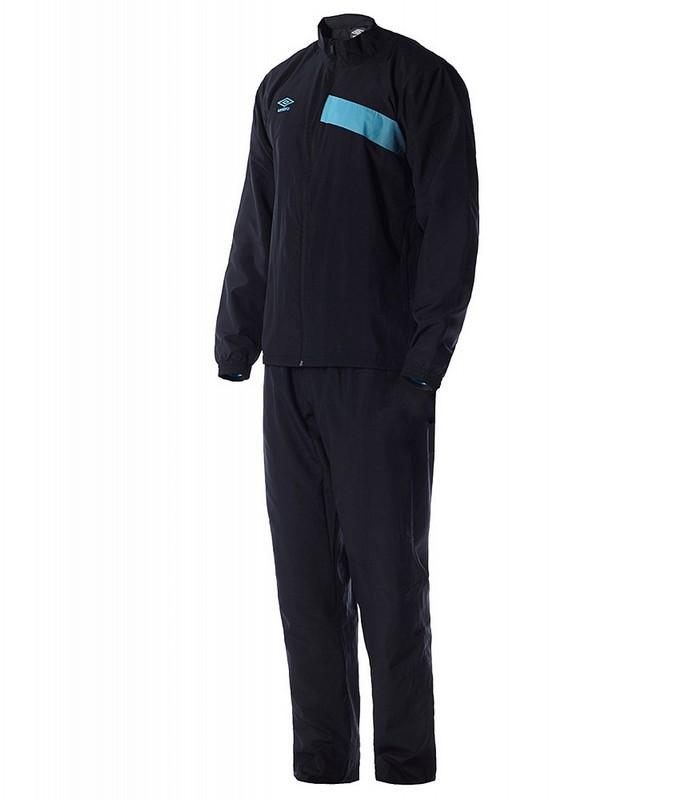 Костюм спортивный Umbro Velocita Woven Suit мужской 62899U (CVD) черн/гол.