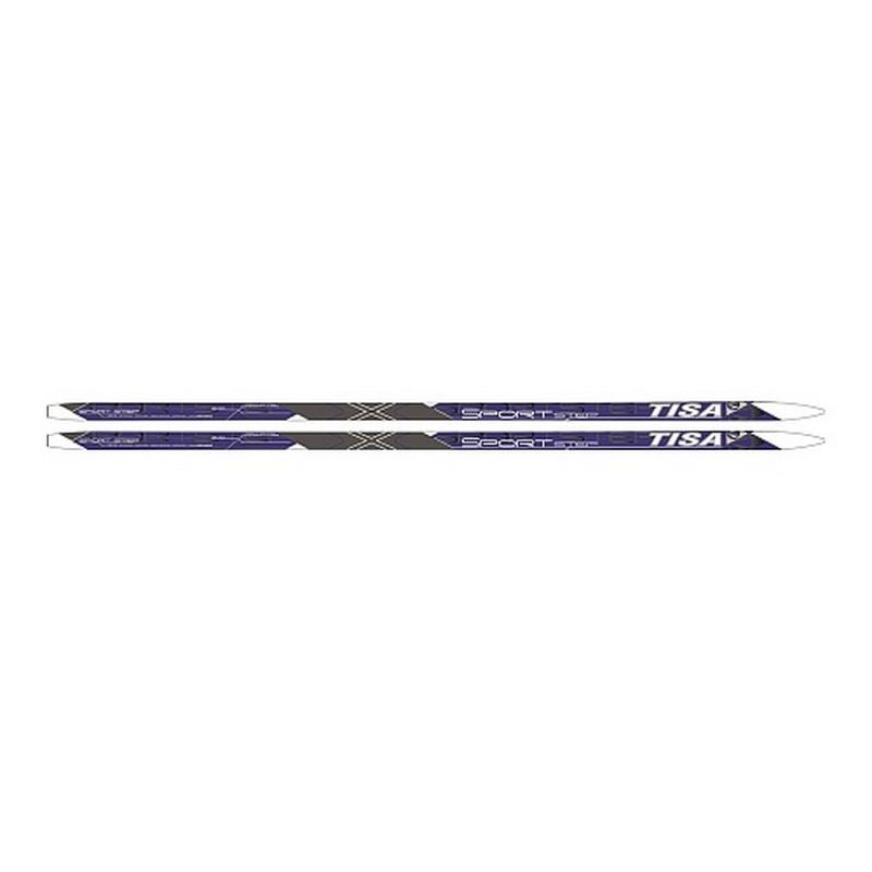 Лыжи беговые Tisa Sport Step Blue N91915