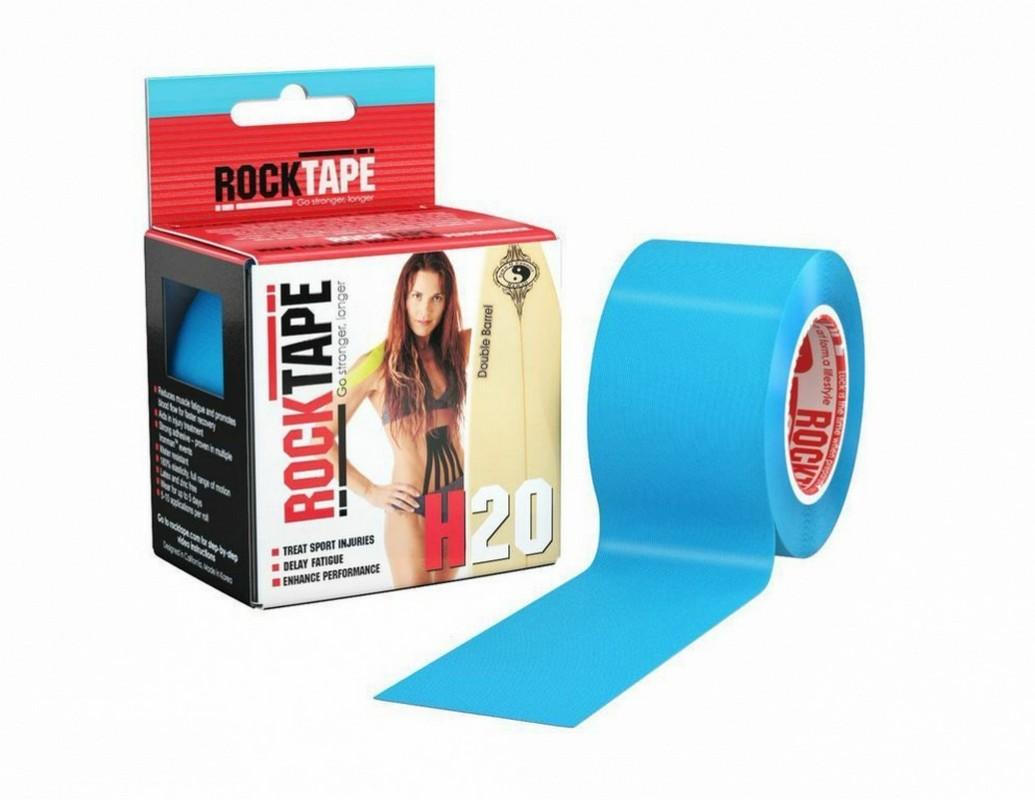 Кинезиотейп RockTape H2O, голубой 2164 от Дом Спорта