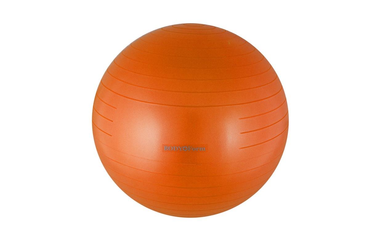 Купить Гимнастический мяч Body Form BF-GB01AB антивзрыв D85 см оранжевый,