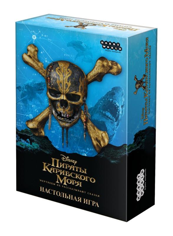 Купить Настольная игра Hobby World Пираты Карибского моря: Мертвецы не рассказывают сказки 1751, Настольные игры