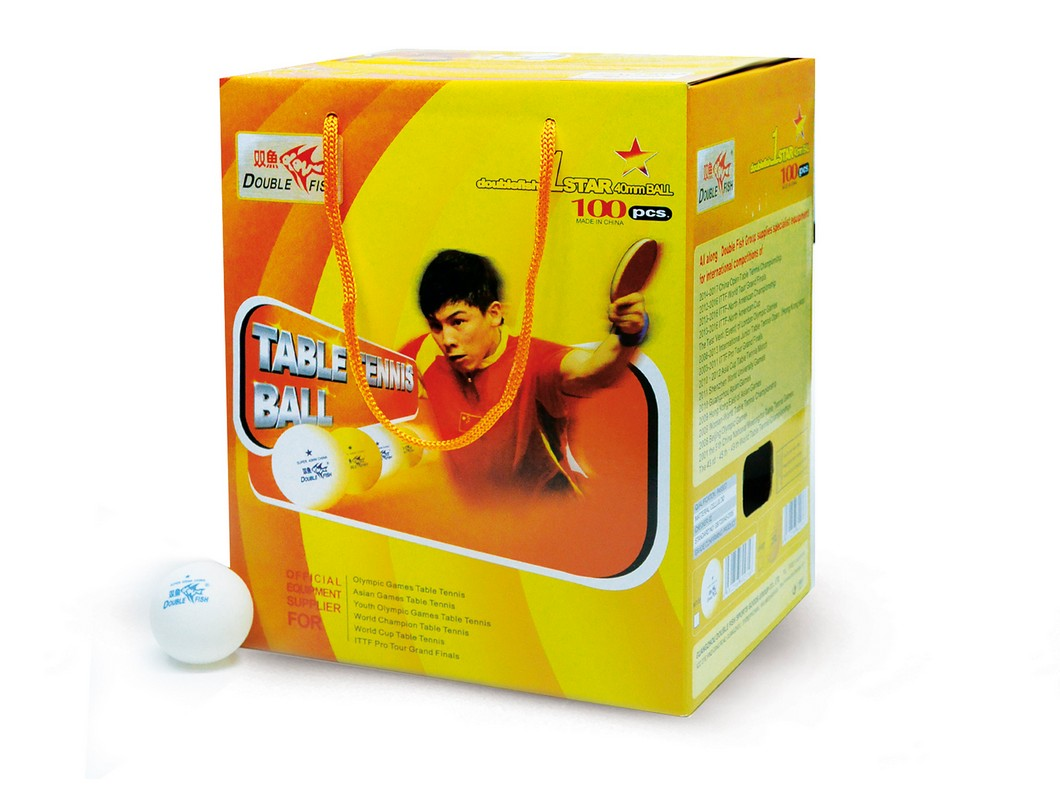 Купить Мячи для настольного тенниса Double Fish B201F/100 (100шт),
