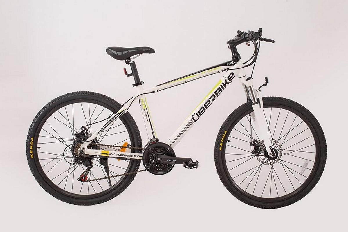 Велогибрид Uberbike H-26-350W Белый