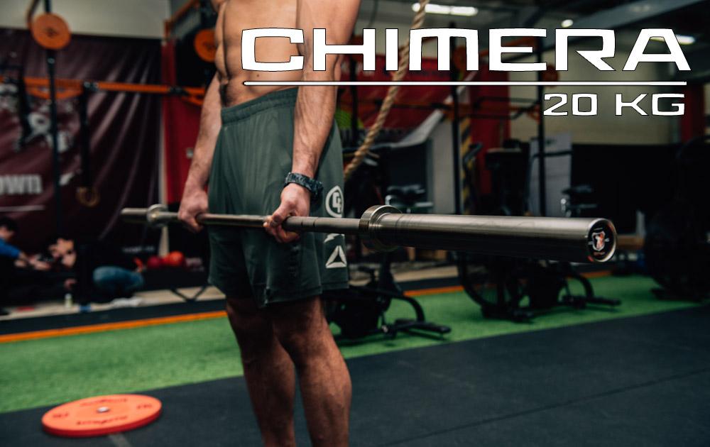 Купить Гриф для штанги IDOL Action Chimera мужской Золотой Цинк / L220см D50мм,