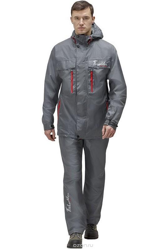 Куртка Fisherman Риф V2 укороченная мембранная 95935-911 темно-серый