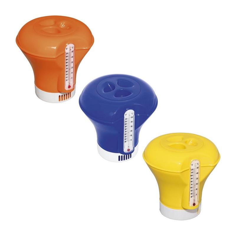 Купить Дозатор для химии Bestway плавающий, с термометром 58209,